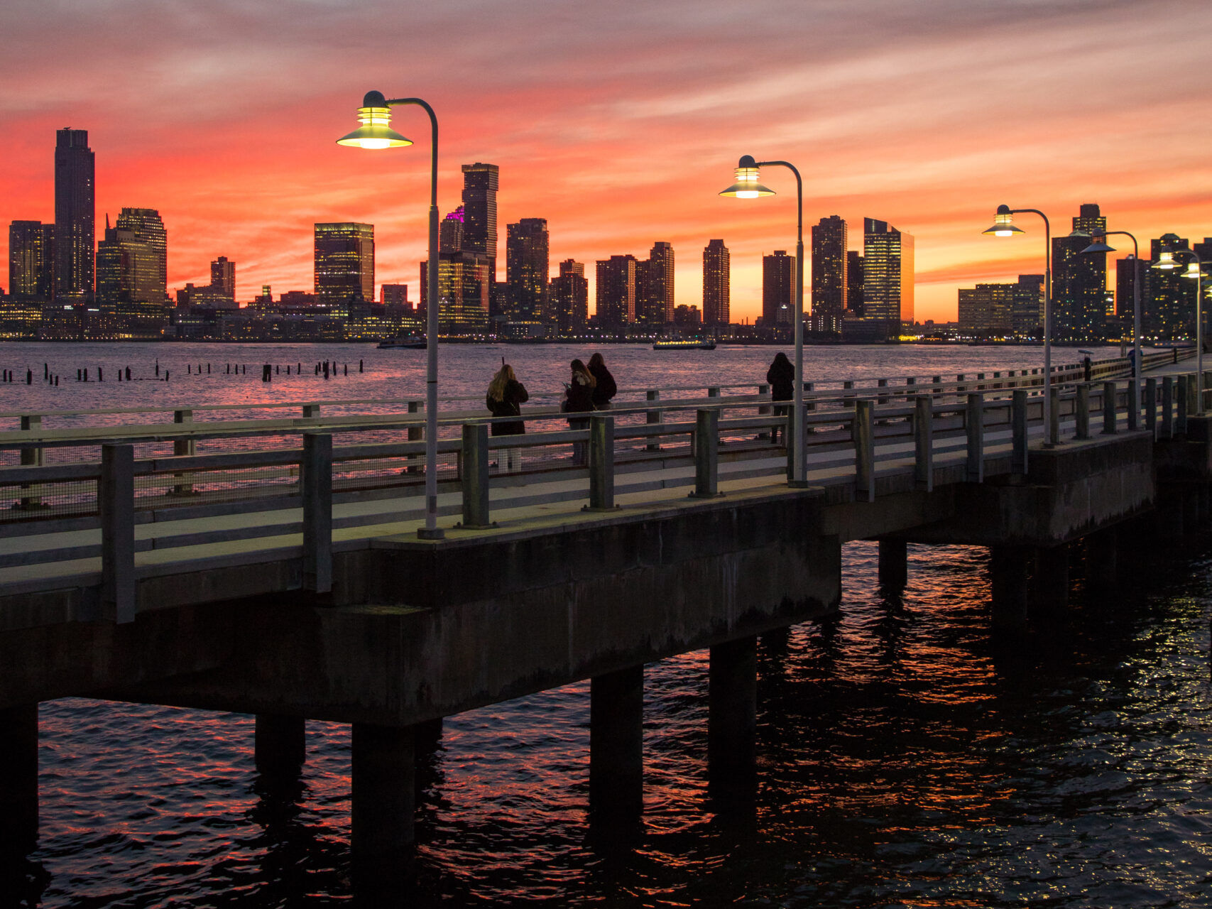 Pier 34 at dusk