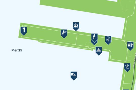 pier 25 map