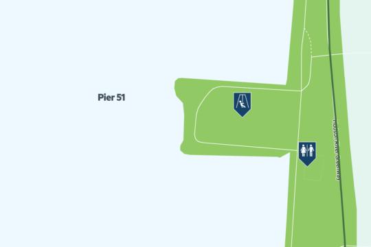 pier 51 map