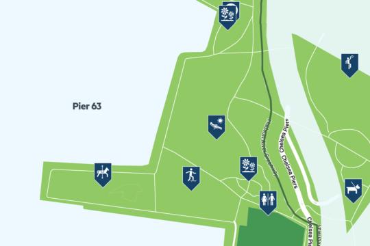 pier 63 map