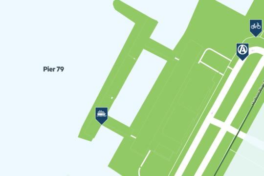 pier 79 map