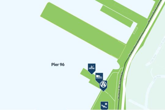 pier 96 map