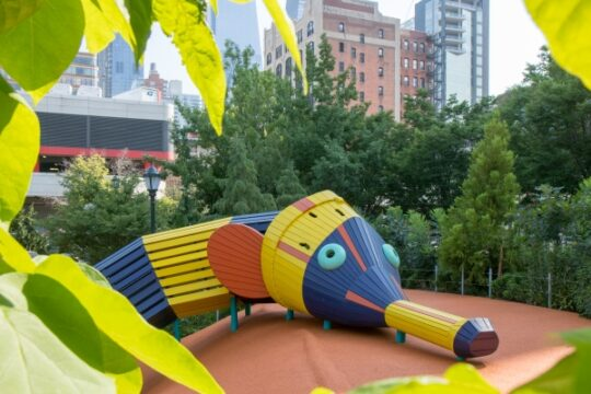 The New Chelsea Waterside Park Play Area Is Open And It S Awesome Hudson River Park