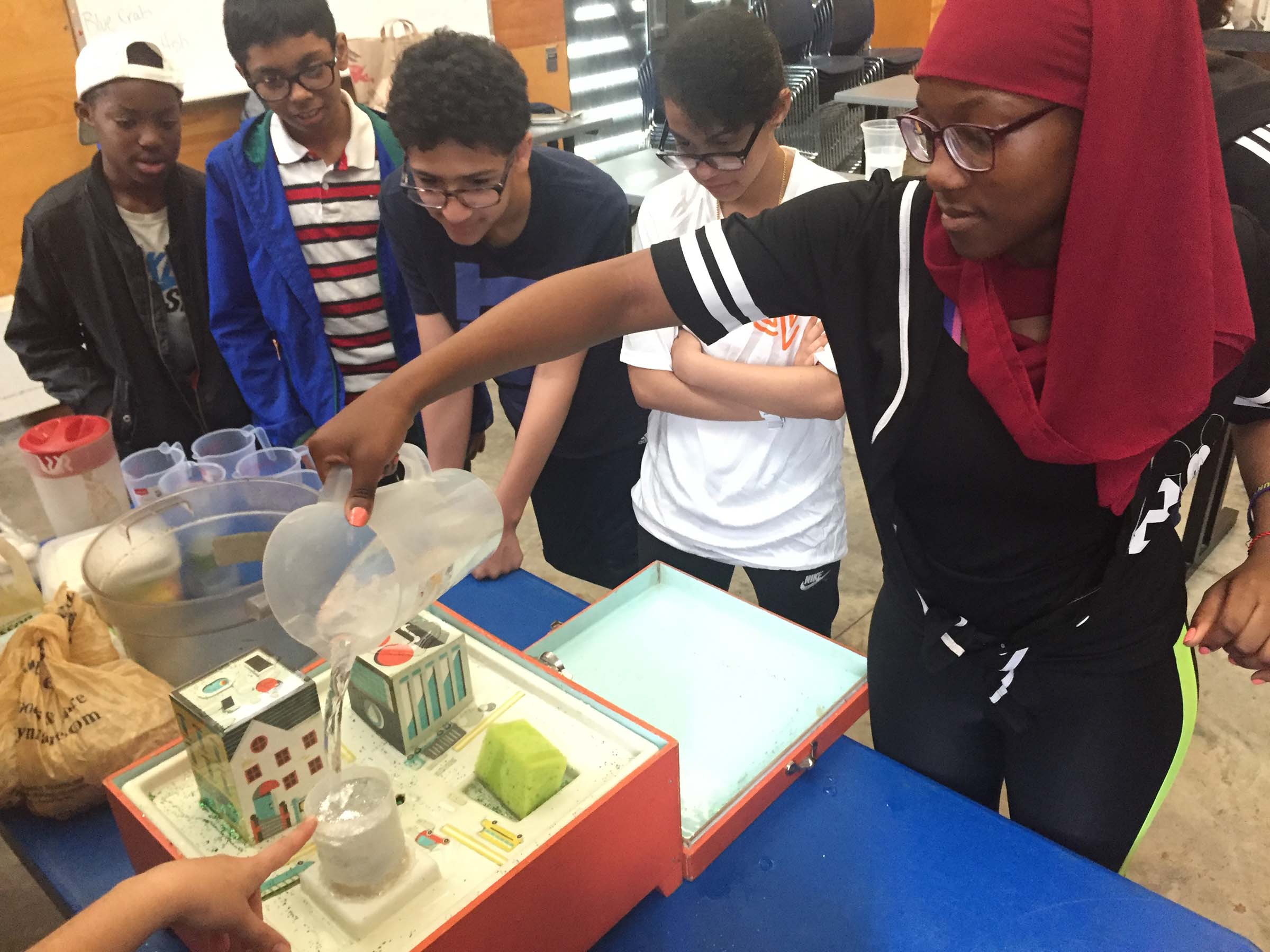 Students understand how to help curb pollution