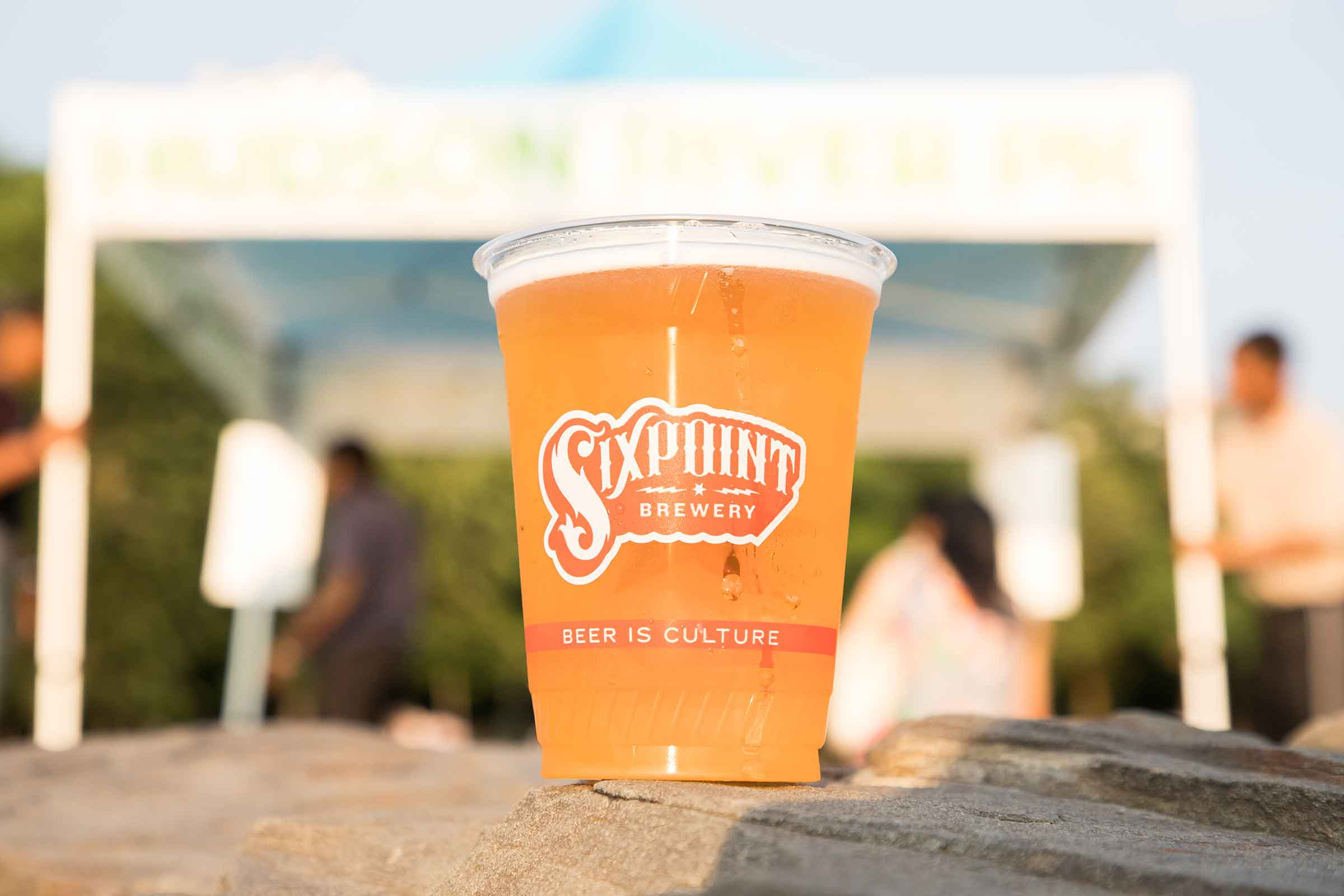 Sixpoint provides beer and other beverages as a sponsor for Hudson River Park