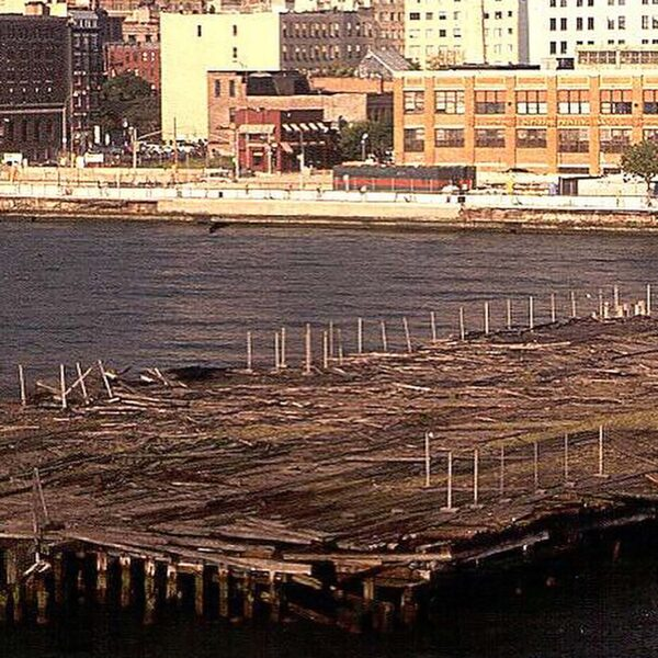 Before the transformation, Pier 66 was crumbling into the water with rotted piles and wood