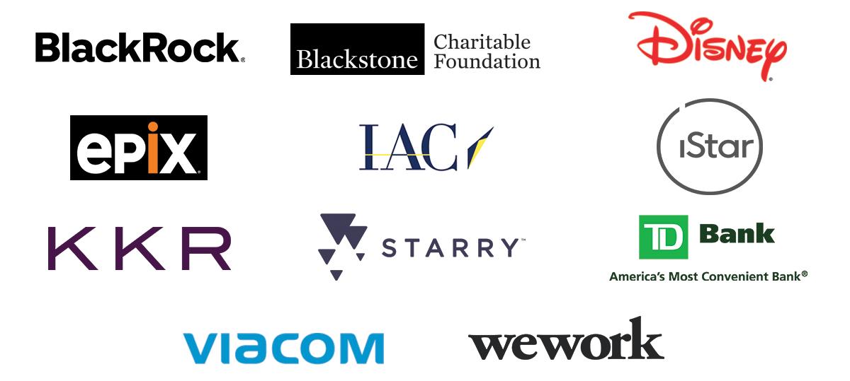 List of sponsors for the volunteer program