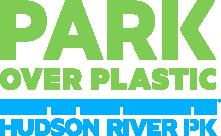 Park over plastic / Hudson River Park logo