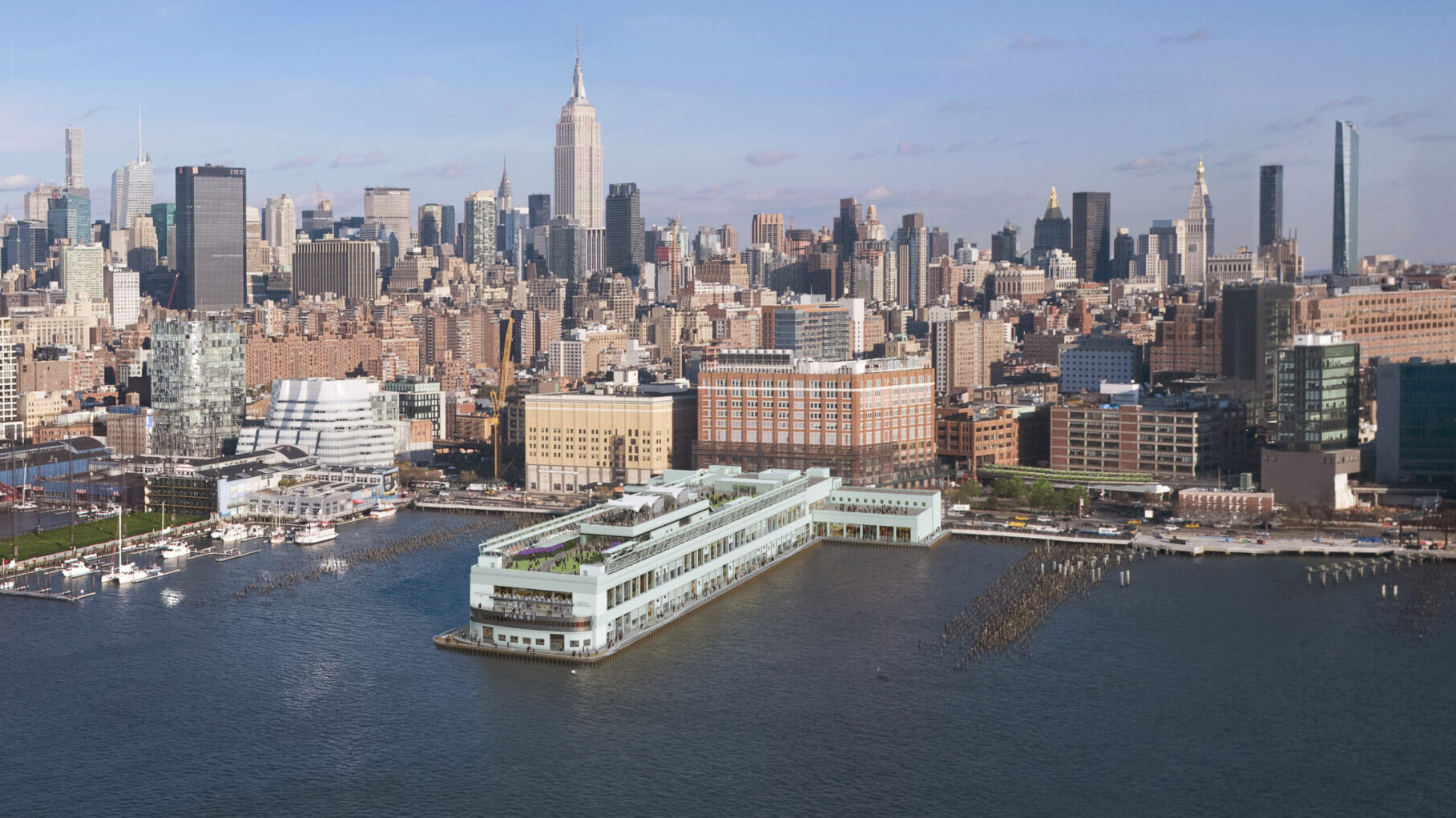Pier 57 Rendering Overview
