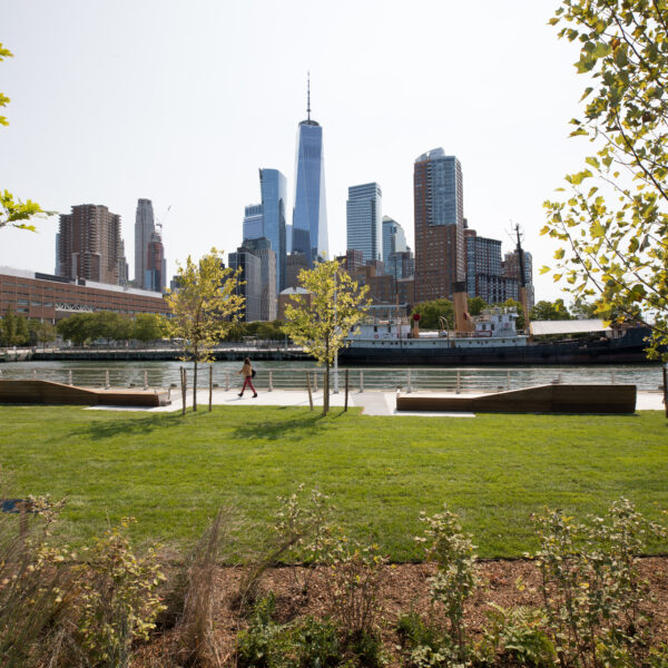 Grass area at Pier 26