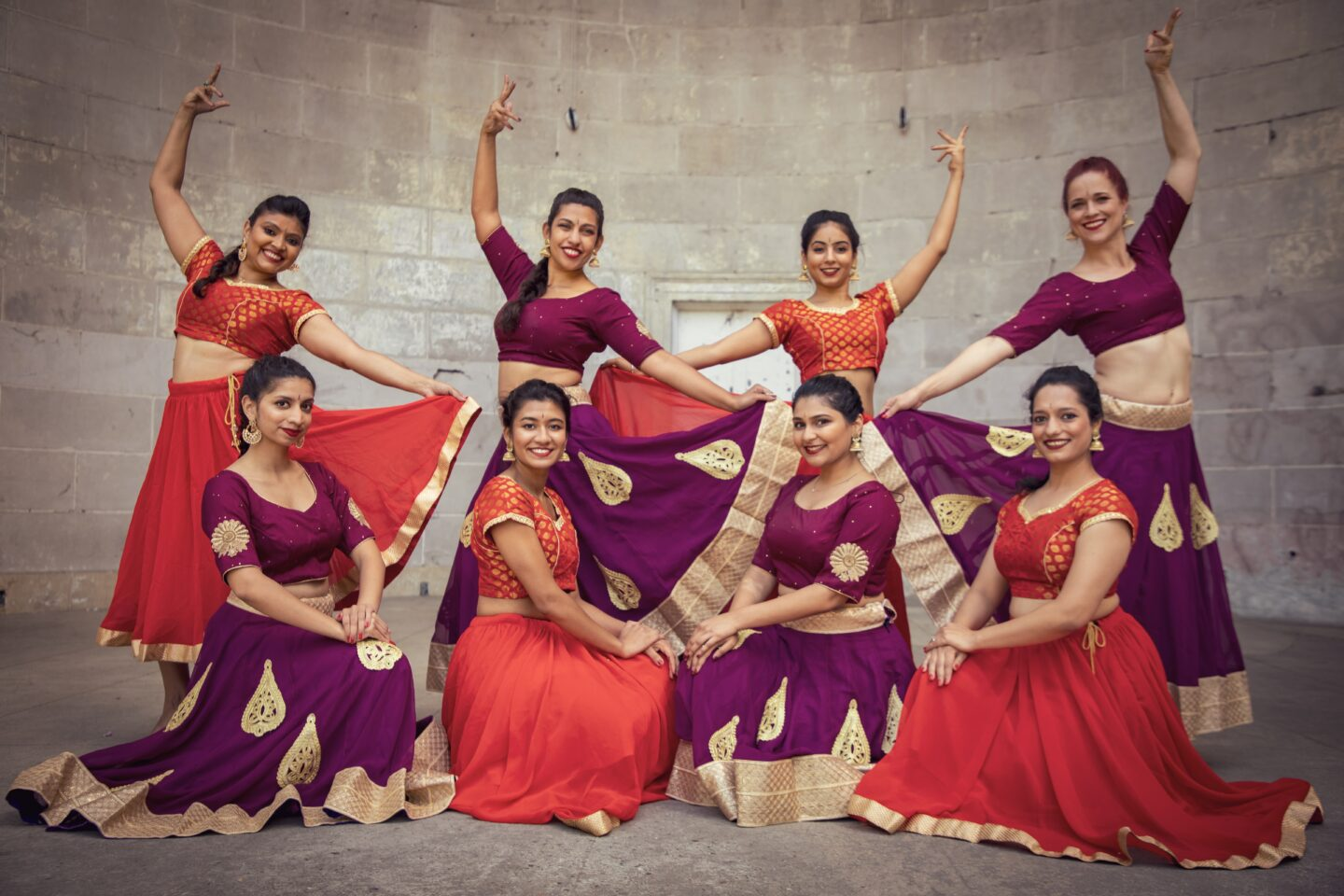 Ajna Dance Group Posing