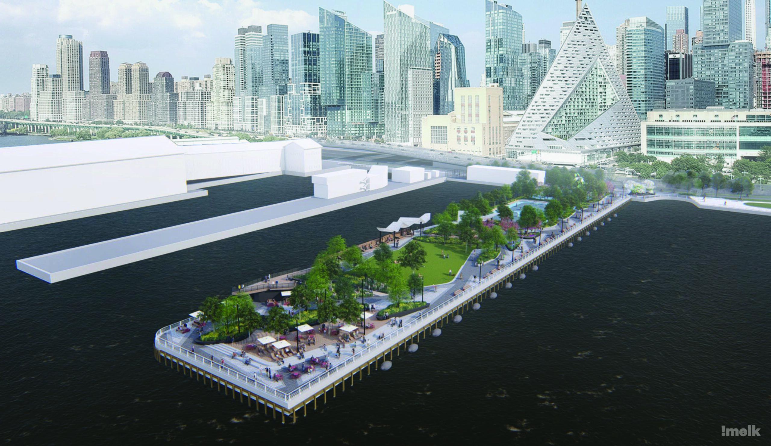 Pier 97 at Hudson River Park