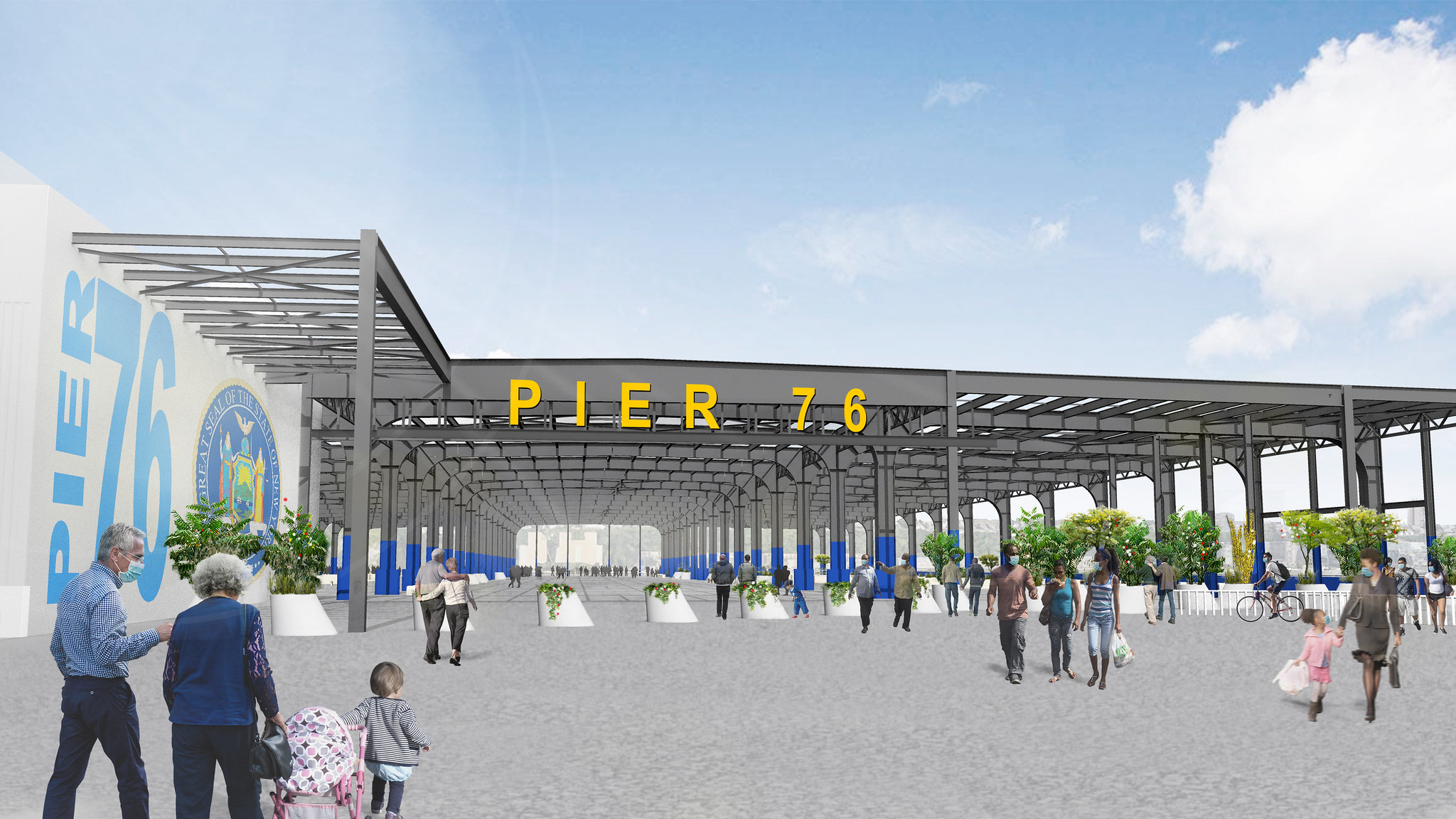 Pier 76 HRPK rendering