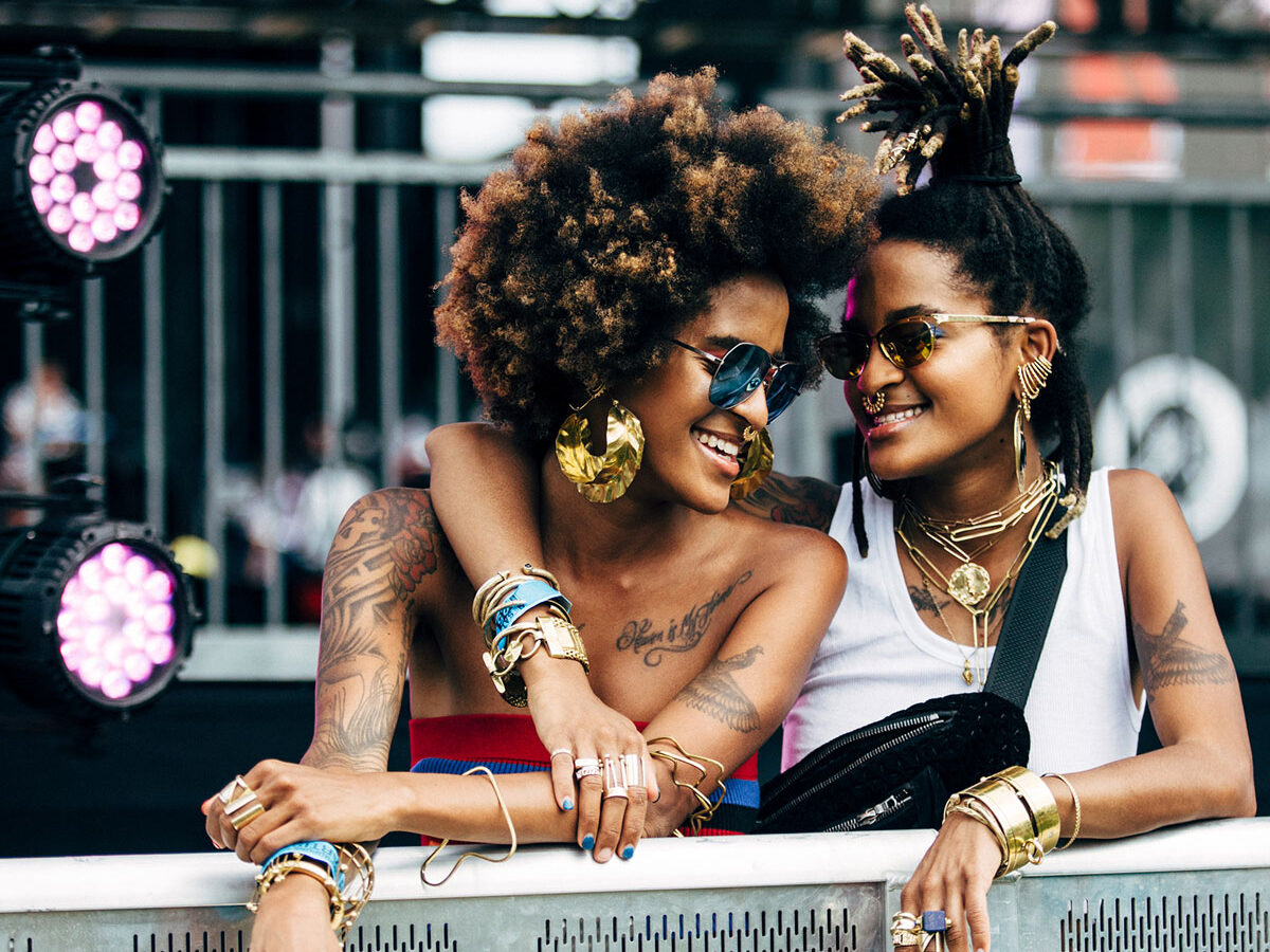 Coco and Breezy perform at Hudson River Park