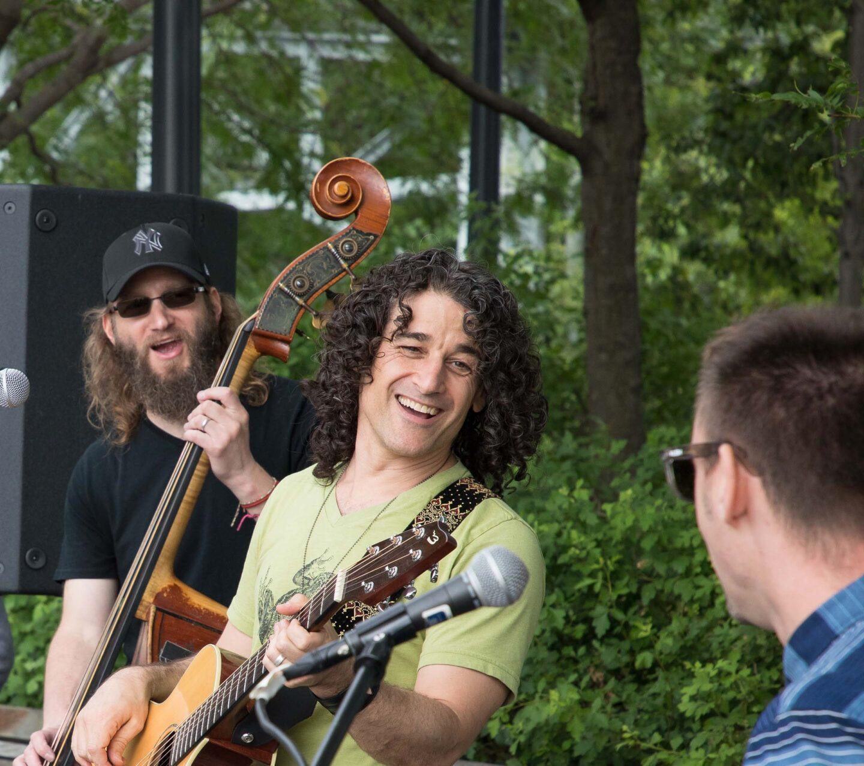 Mike Messer and band Hudson RiverKids performance at Hudson River Park