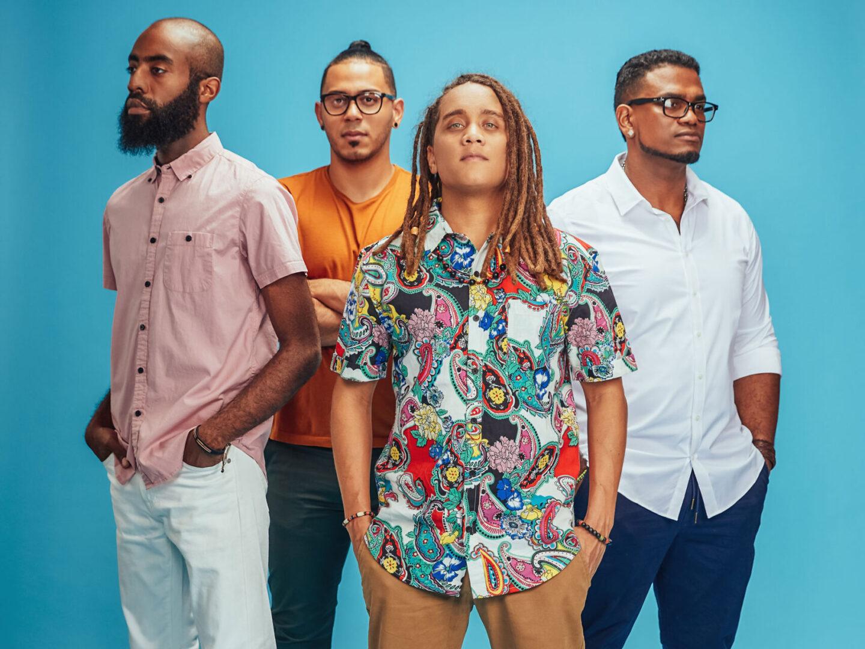 Yasser Tejeda & the Palotre band portrait